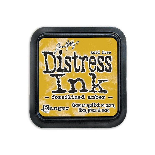 38422 Distress Mini Ink Pad Fossilized Amber.