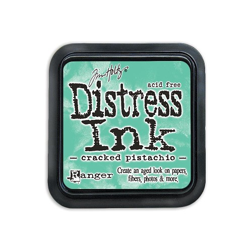 38423 Distress Mini Ink Pad Cracked Pistachio.