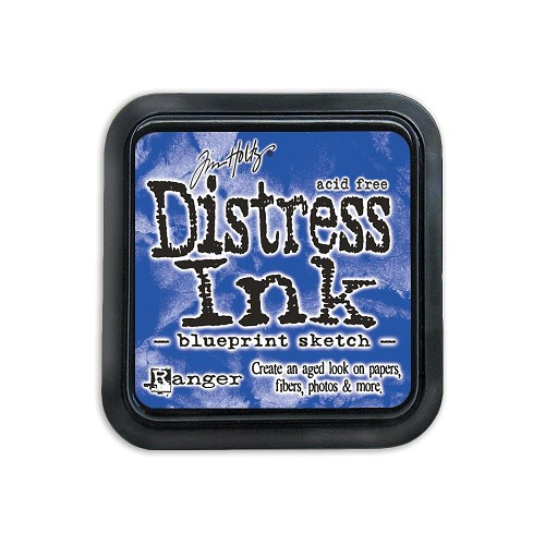38426 Distress Mini Ink Pad Blueprint Sketch.