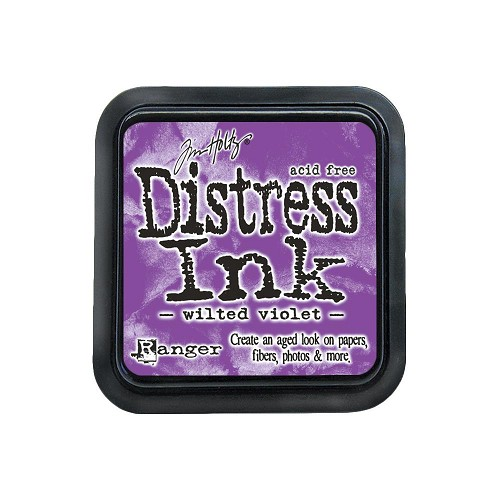 38427 Distress Mini Ink Pad Wilted Violet.