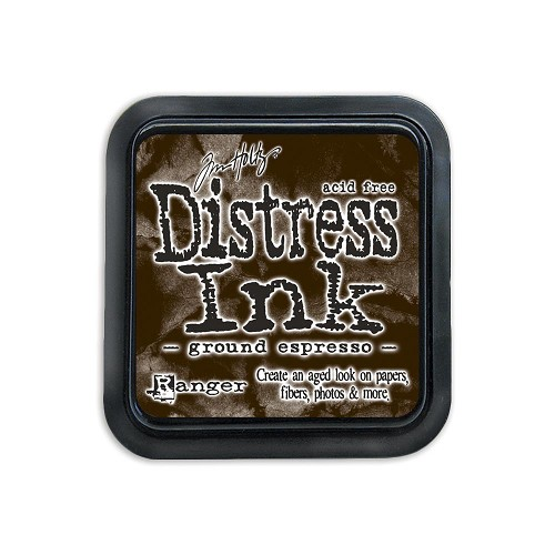 38428 Distress Mini Ink Pad Ground Espresso.
