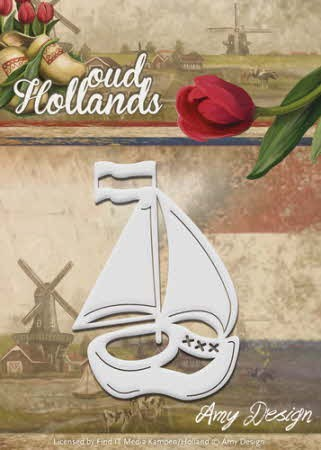 38649 Die - Amy Design - Oud Hollands - Klompboot (ADD10049).