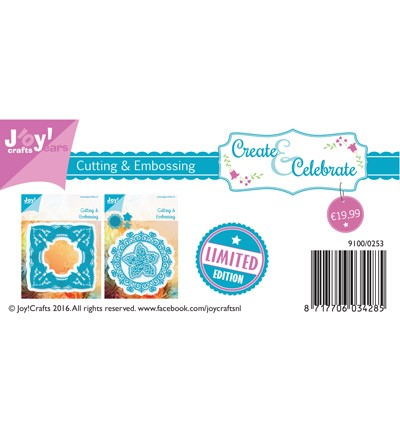 38680 Joy Crafts Limited Edition Stencils Pakketvoordeel (1+1 gratis) (9100/0253).