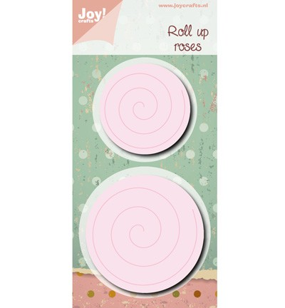 38686 Joy Crafts Cutting Roll Up Spiral L/S 2pcs / Ø 65 / 50 cm (6002/0473).