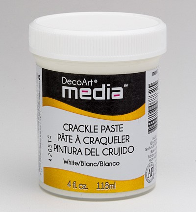 38795 Deco Art Mixed Media Crackle Paste White (DMM17).