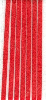 38849 Hobby & Crafting Fun 5 mtr Veter 3 mm Rood (12005-0005).