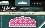 38889 Crafter`s Companion Die`sire Snijmal Edge`ables- Doily Lattice.