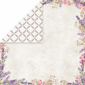 39044 Craft and You Design Lavender Garden 30,5x30,5 cm Dubbelz. 02.