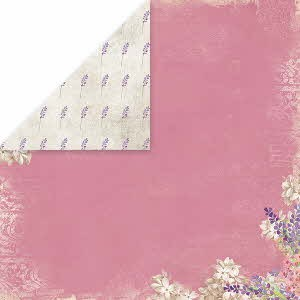 39046 Craft and You Design Lavender Garden 30,5x30,5 cm Dubbelz. 04.