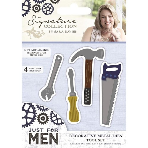 39166 Crafters Companion Just For Men Tool Set.