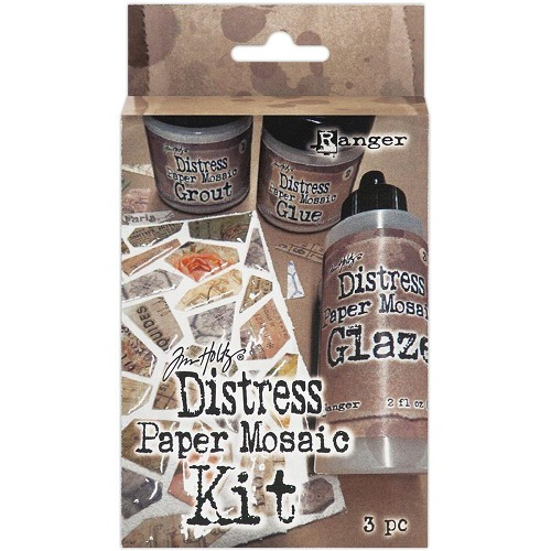 39382 Tim Holtz Distress Paper Mosaic Kit.