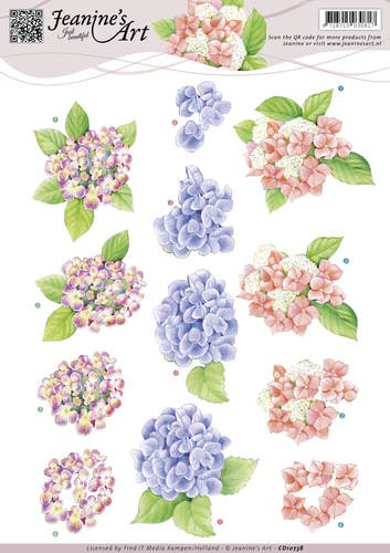 39932 (047) Jeanines Art - Hortensias (CD10738).