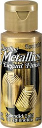40042 Deco Art Dazzling Metalics Flesje 59 ML Splendid Gold (DA263).