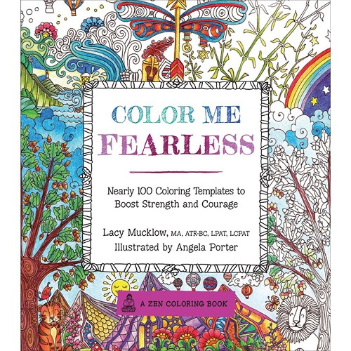 40097 Race Point Publishing Books Color Me Fearless.