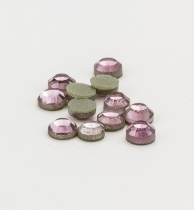 40112 Hotfix Strass Light Amethyst Formaat: 16pcs / ss12, 3,1-3,2mm (12004-2105).