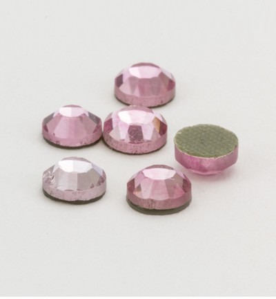 40117 Hotfix Strass Rose Formaat: 6pcs / ss20, 4,7-4,8mm (12004-2408).