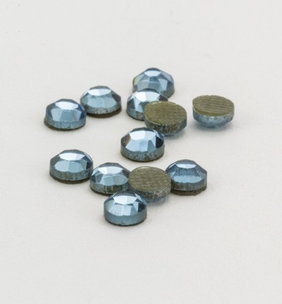 40118 Hotfix Strass Aquamarine Formaat: 16pcs / ss12, 3,1-3,2mm (12004-2109).