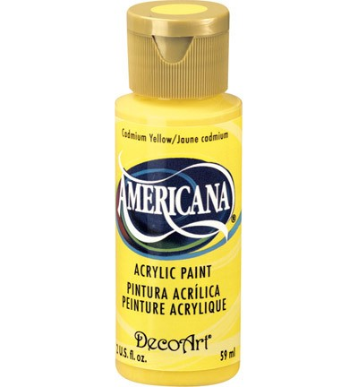 40179 Deco Art Americana Acrylverf 59 ML Cadmium Yellow (DA010).