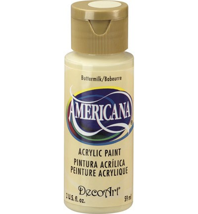 40183 Deco Art Americana Acrylverf 59 ML Buttermilk DA03).