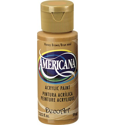 40185 Deco Art Americana Acrylverf 59 ML Honey Brown (DA163).