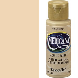 40186 Deco Art Americana Acrylverf 59 ML Toffee (DA059).