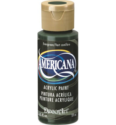 40189 Deco Art Americana Acrylverf 59 ML Evergreen (DA082).