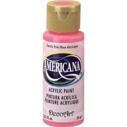 40190 Deco Art Americana Acrylverf 59 ML Electric Pink (DA231).