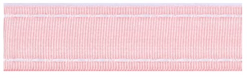40199 Ribbon 16mm x 1mtr with white stitched end (02) pink.