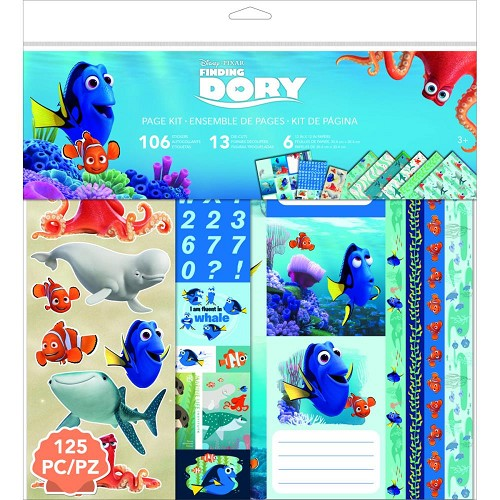 40221 Disney Finding Dory Page Kit 30,5x30,5 cm.