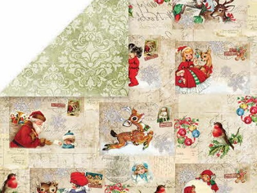 40427 Craft & You Design North Pole Dubbelzijdig Papier 30,5x30,5 cm 01.