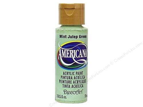 40607 Deco Art Americana Acrylverf 59 ML Mint Julep Green (DA045).