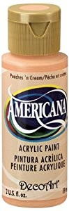 40976 Deco Art Americana Flesje 59 ML Peaches N Cream (DA023).