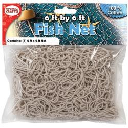 41121 Cotton Fish Net 1,8 x 1,8 Meter.