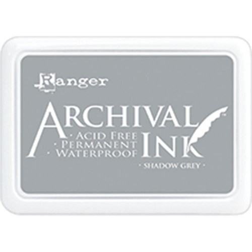41219 Ranger Archival Ink Pad Shadow Grey.
