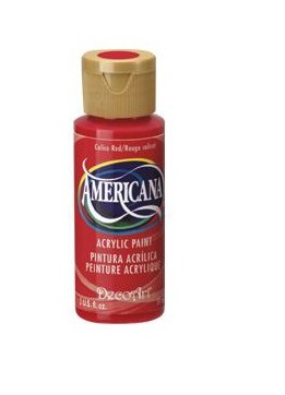 41425 Deco Art Americana Acrylverf Flesje 59 Ml Berry Red.