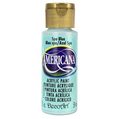41429 Deco Art Americana Acrylverf Flesje 59 Ml Spa Blue (DA277).