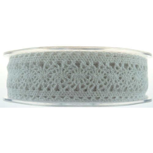 42008 Lace Ribbon Victorian 27 mmx 1 Meter White.