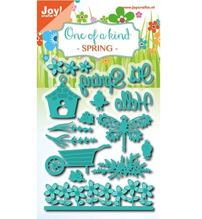 42208 Joy Crafts One of a Kind Lente 15 Stuks (6002/0700).