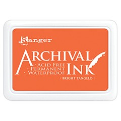 42545 Ranger Archival Ink Pad Bright Tangelo.