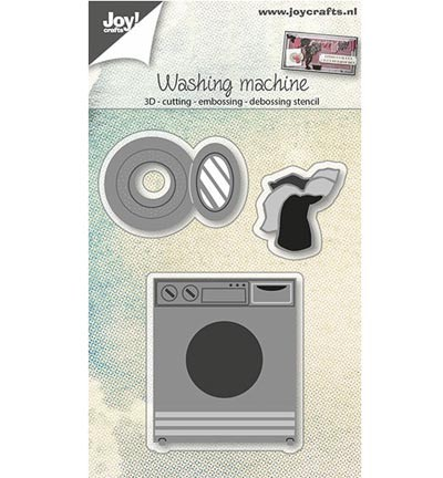 42599 Joy Crafts C&E&D 3D - Wasmachine 40x27 / 23x25 / 44x51 mm (6002/0673).