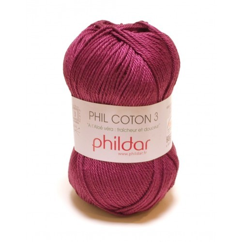 42683 Phildar Coton 3 Prune 1420.