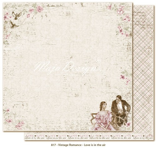 42784 Maja Design Vintage Romance - Love is in the Air.
