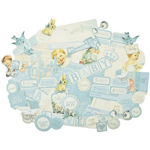 42946 Peek-A-Boo Collectables Cardstock Die-Cuts Boy.