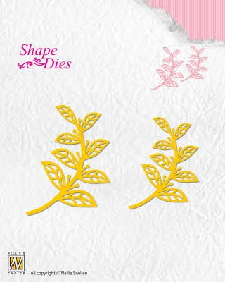 42980 Nellie Snellen Shape Dies Leaves 2 (SD127).