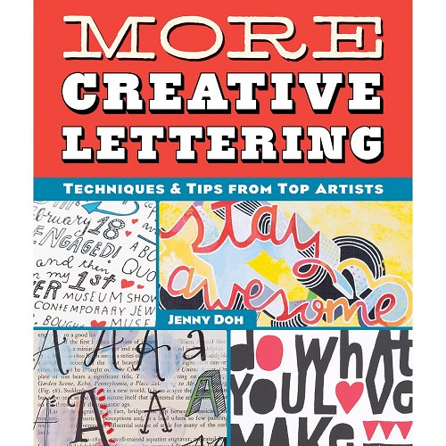 43318 Lark Books More Creative Lettering (ENG).