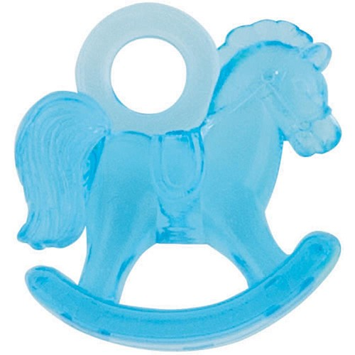 43383 Party Favors 16/pkg Blue Rocking Horse 2,5x3 cm.