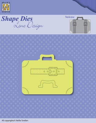 43459 Nellie Snellen Shape Dies Men Things Suitcase (SDL037).