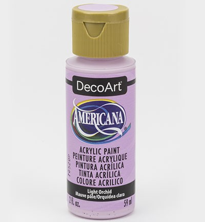 43673 Deco Art Americana Acrylverf 59 ML Light Orchid (DA352).