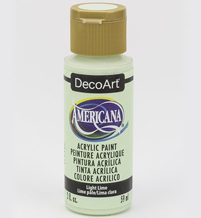 43677 Deco Art Americana Acrylverf 59 ML Light Lime (DA348).