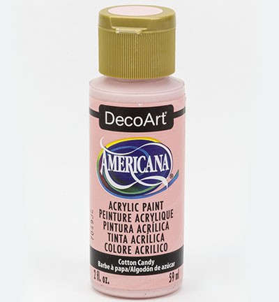 43678 Deco Art Americana Acrylverf 59 ML Cotton Candy (DA347).